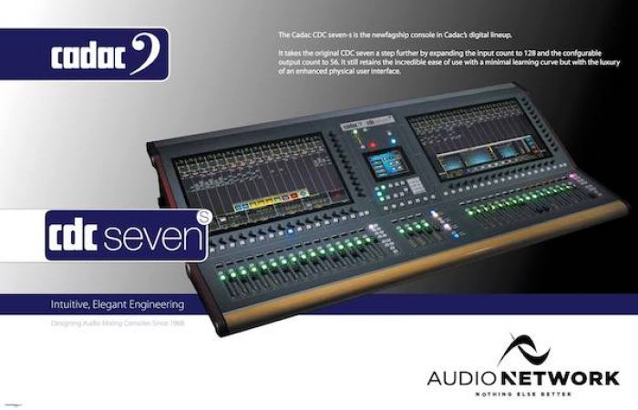 Cadac CDC Seven Digital Mixer Console