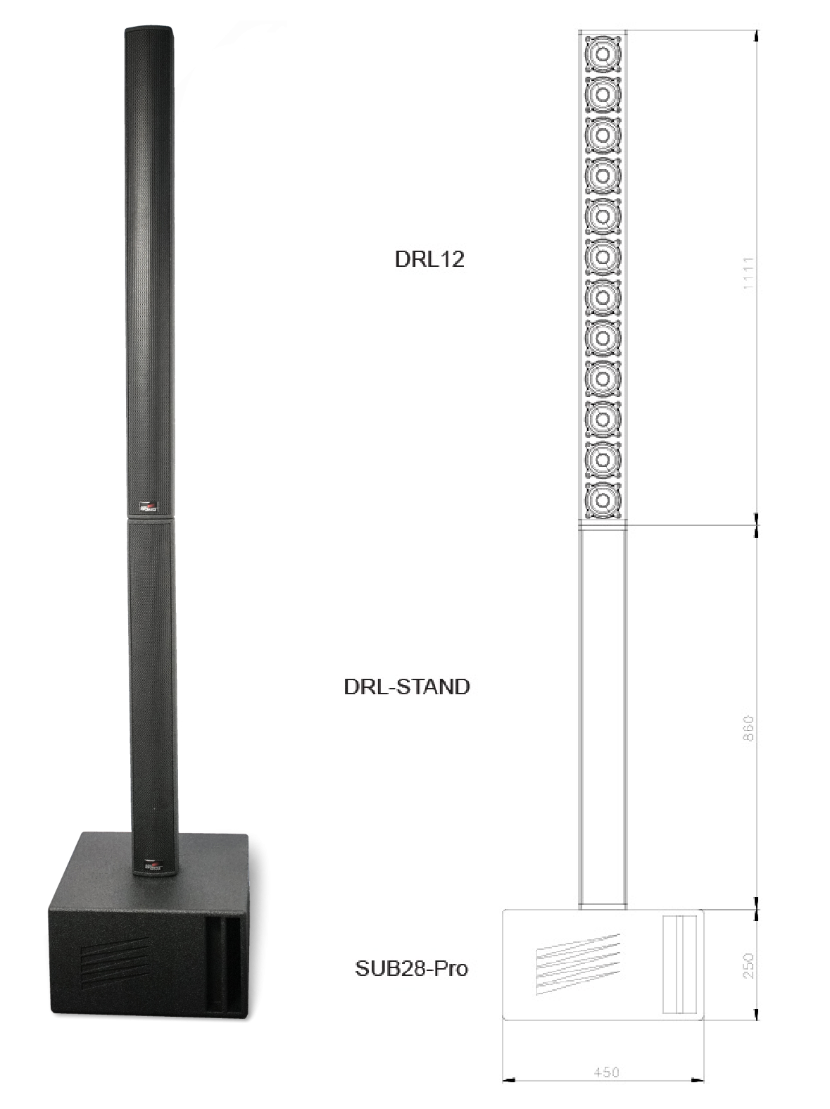 DRL12 Stand Sub28PRO modification1